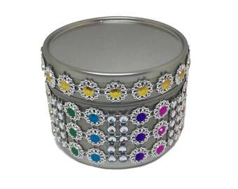 BoHo Diamanté Scented Soy Candle