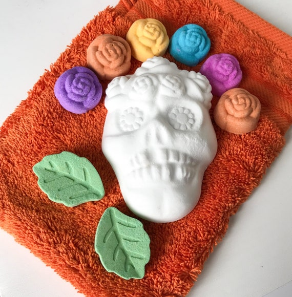 Skully Rose Bath Bombs - kind to sensitive skin