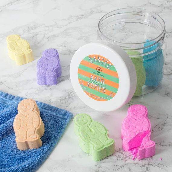 Bath Bomb Babies - kind to sensitive skin