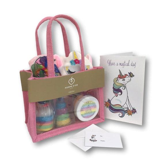 Unicorn Gift Bag - Bath Set (large)