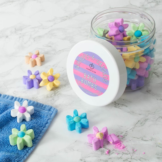 Whoops-a-daisies Bath Bombs - kind to sensitive skin