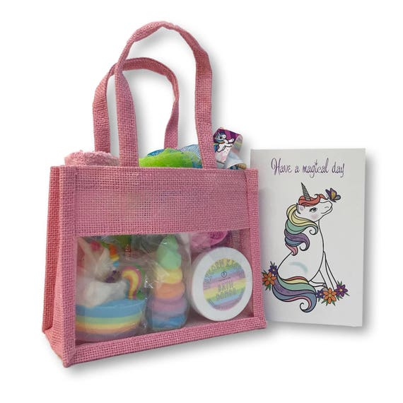 Unicorn Gift Bag - Bath Set (large)