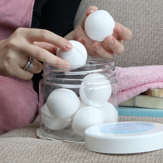 Snowballs Bath Bombs - kind to sensitive skin