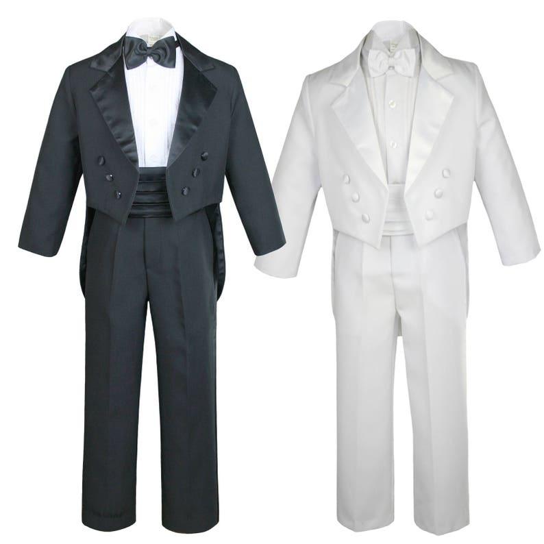 50df79af0 New Baby Toddler Boys WHITE or BLACK Formal Baptism Communion | Etsy