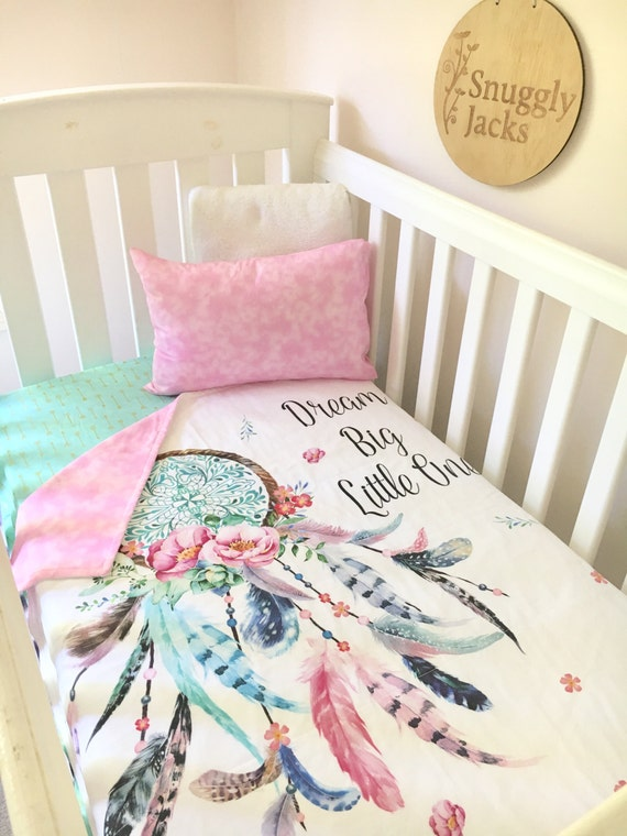 Baby Cot Crib Quilt Blanket Dreamcatcher Baby Girl Full