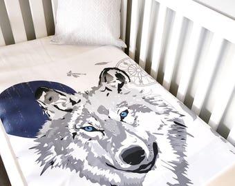 Wolf Nursery Etsy
