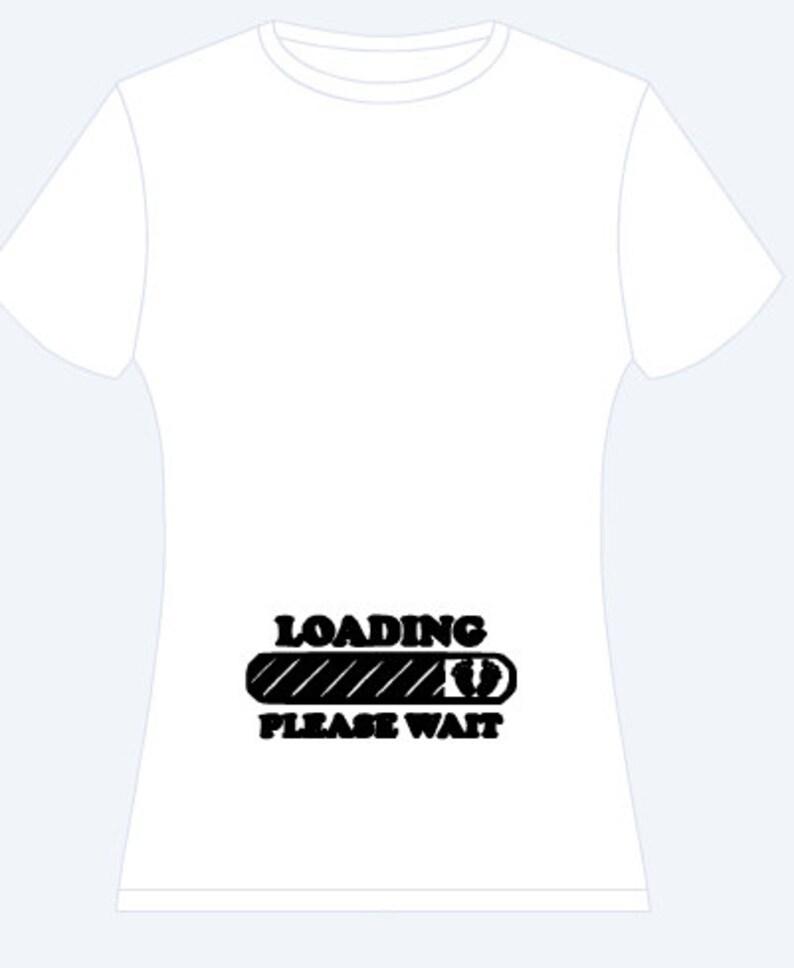 2f35aaa97f97c Loading Baby Maternity Shirt | Etsy