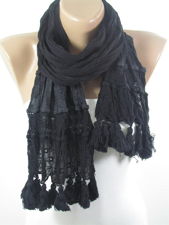 Unique women accessories Winter gift for her Head scarf for winter