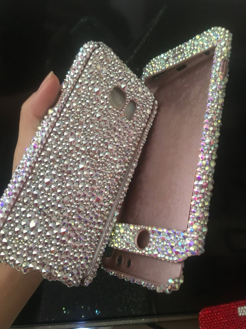 SAMSUNG Galaxy S9 S9PLUS phone case SWAROVSKI CRYSTALS ab  8f8b5706ab