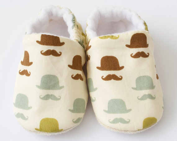 Baby shoe, baby shoes boys, baby boys shoes, top hat, moustache, boys shoes.