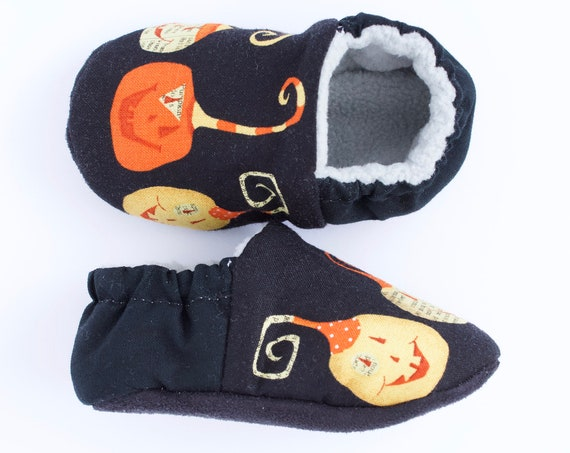 Baby shoes, baby boys shoes, baby shoes boys, halloween shoes,Pumpkin Heads pre walker and toddler shoes