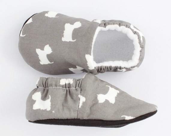 Westie baby and toddler shoes