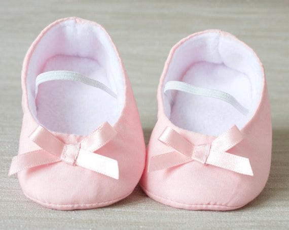 baby girl shoe, baby shoe ballet flat, Baby pink baby girl shoe, girls cotton shoe, baby ballet flat.