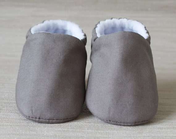 Baby shoes, baby shoes boy, baby boys shoes, Grey cotton baby shoes, toddler boys shoes, Grey baby shoes