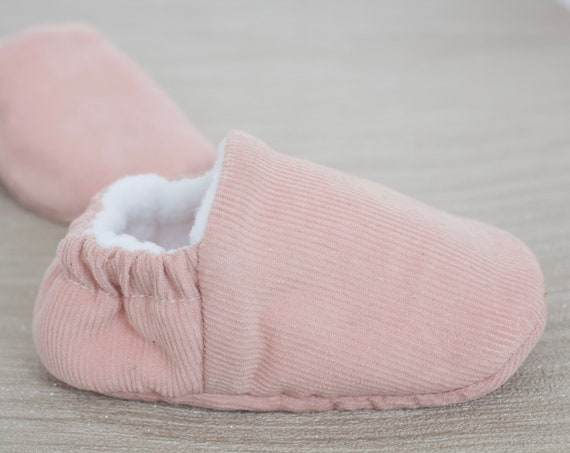 baby girl shoe, baby shoe, baby shoes girls, pink girls shoe, pink corduroy baby girls shoe, girls toddler shoe.