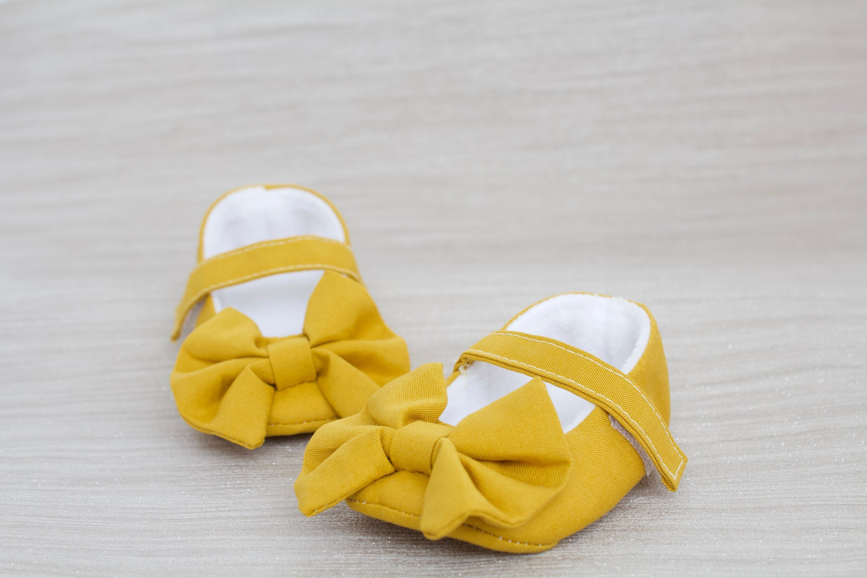 77a1cf4113ba6 Baby shoe, girls shoe, baby shoe girls, baby girls shoe, Mustard Mary Jane  soft sole baby girl shoes, with over sized bow