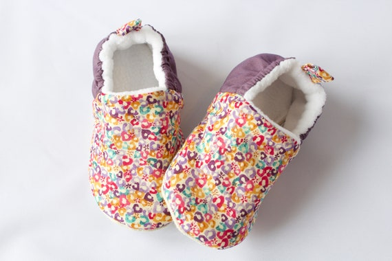 Baby girls shoe, baby shoe, baby shoe girls, baby shower, Bright and colourful cotton lawn shoes, for girls