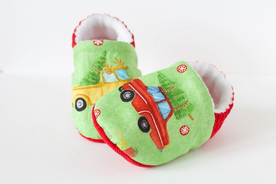 Christmas trucks shoe