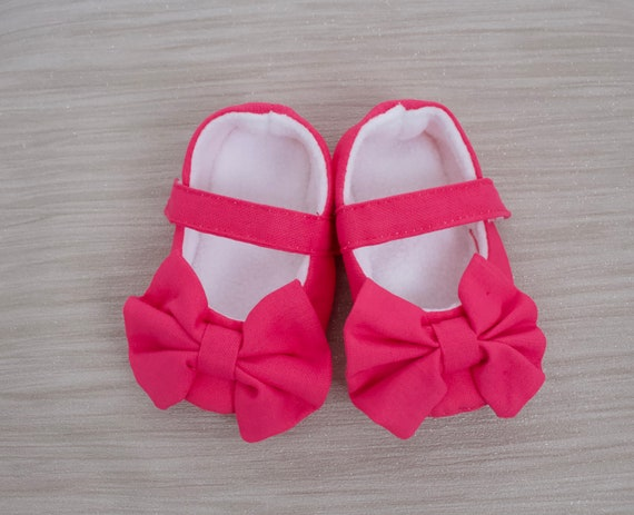 baby girls shoe Taupe Linen Ballet flats. baby shoes girls Baby shoes