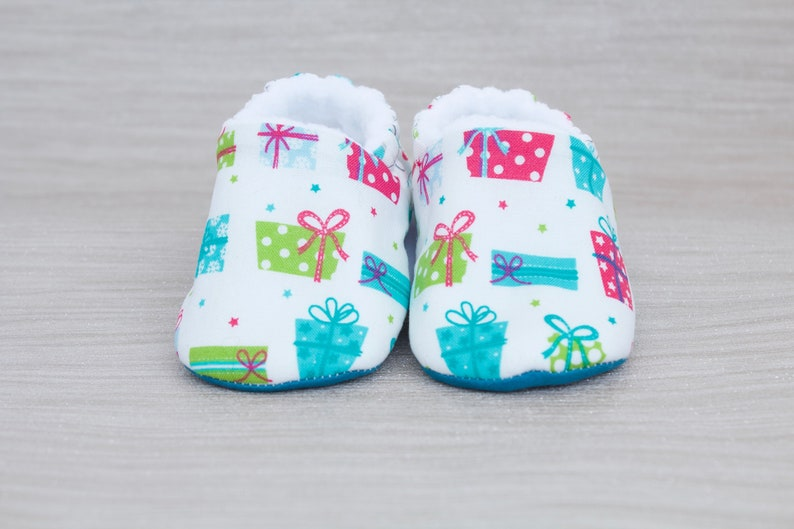 Christmas Shoes For Girls.Baby Shoes Christmas Shoes Baby Girls Shoe Baby Boys Shoe Christmas Gifts Baby Shoe Teal And White