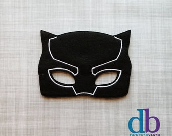 5800114246 Black Panther Inspired Mask - Kid & Adult - Creative Play - Halloween  Costume