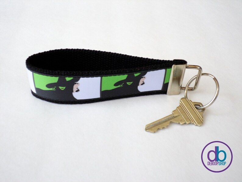 Wicked Musical Inspired Keychain image 0