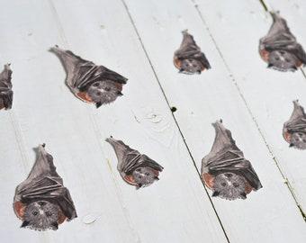 Hanging Bat Party Cutouts, Bat Die Cuts, Bat Party Punchies, Bat Craft Ephemera, Halloween Table Decoration, Halloween Die cuts