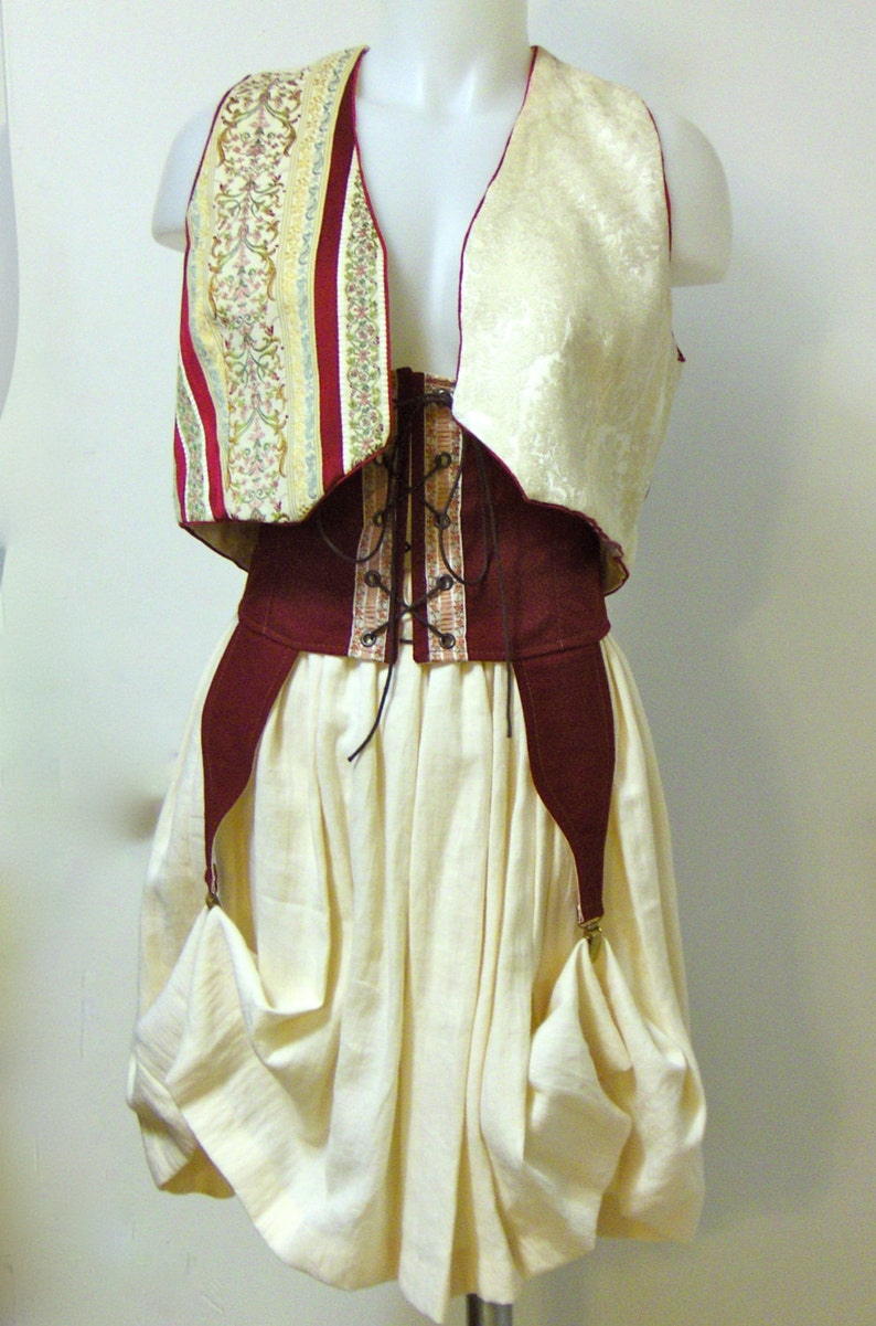 c1601216daa Steampunk Costume Victorian Cosplay Dickens Xmas 3 Piece