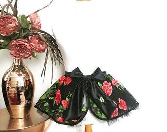 Sexy Apron, Rose Garden Collection, Fancy Apron, Bridal Apron, Honeymoon Lingerie, Bridal Shower Gift, Lingerie, blushing bride