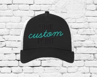 031e5d01af499 Camo New Era Original Fit Snapback Trucker 9 Forty Cap Custom Embroidery  Your Custom Print Mesh Back Trucker Hat NE205