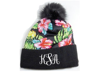 Maui Hawaiian Islands Skull Cap Men /& Women Knit Hats Stretchy /& Soft Beanie