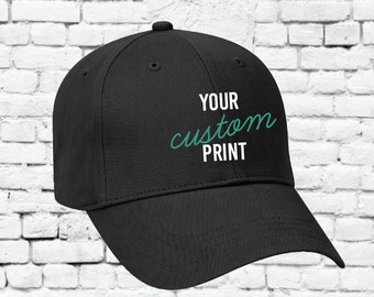 ca1a35dd1ccda Youth Custom Embroidery Hat Adjustable Custom Brushed Cotton Baseball Cap  Your Color Choices 65-758 Otto Brand Dad Caps