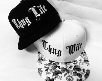 3d3df03d7 Thug life cap | Etsy
