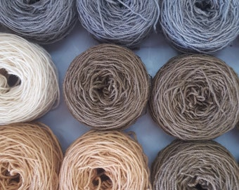 100gms Rare Breed Sheep, 3 Ply Yarn, 100% Bega Valley Grown, Hand-Dyed.