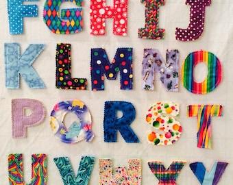 Boys Fabric Alphabet