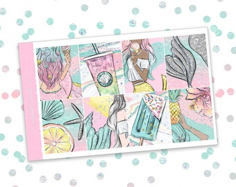 Jessica // ULTIMATE KIT (Glossy Planner Stickers)