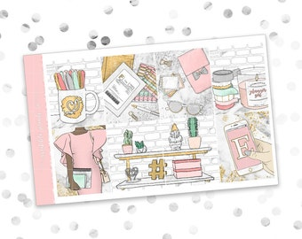 Cyber Monday Mystery // ULTIMATE KIT (2017) (Glossy Planner Stickers)