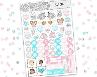 ULTIMATE KIT // Magic (Glossy Planner Stickers)