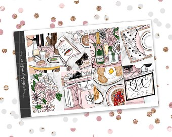 SPC Cafe // ULTIMATE KIT (Glossy Planner Stickers)