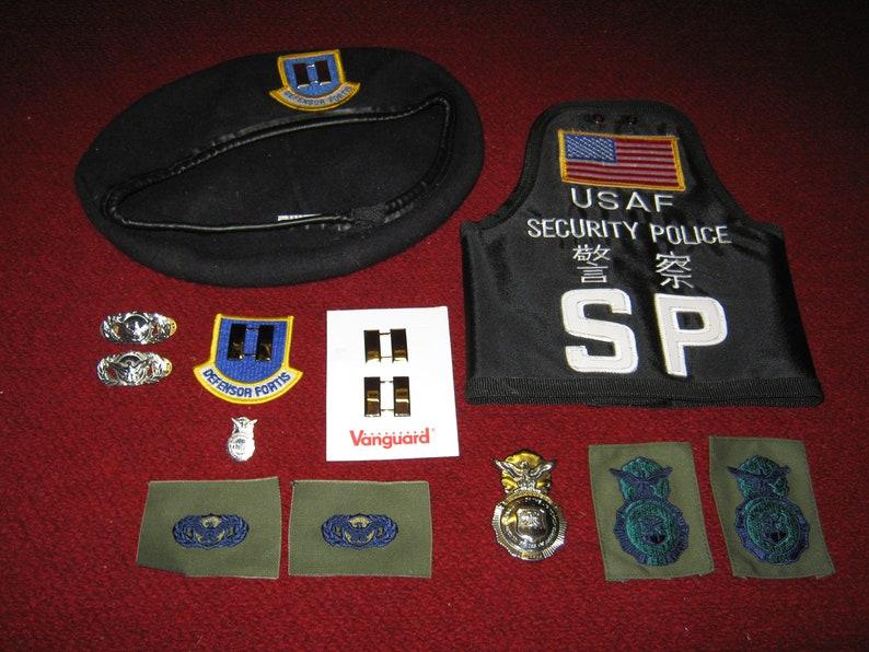 USAF Security Lot 1998 U S  Air Base Japan Defensor Fortis Captain's Rank