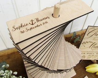 Wedding Guest Book Alternative, Anchor Wedding Guest Book Tower, Custom Wood Wedding Guestbook, Build Memories Guestbook, 3D Guest Book