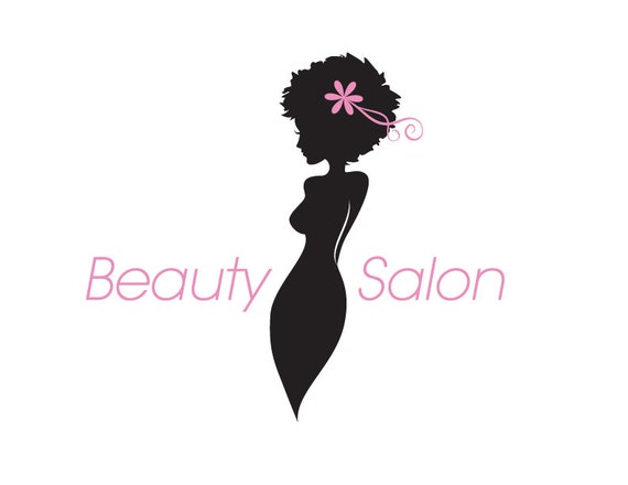 Beauty Salon And Hairdresser Silhouette For Business Stock Vector Colourbox