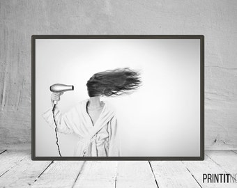 Woman Photography, Modern Contemporary, Large Printable Poster, Digital Download, Modern Minimalist Wall Decor