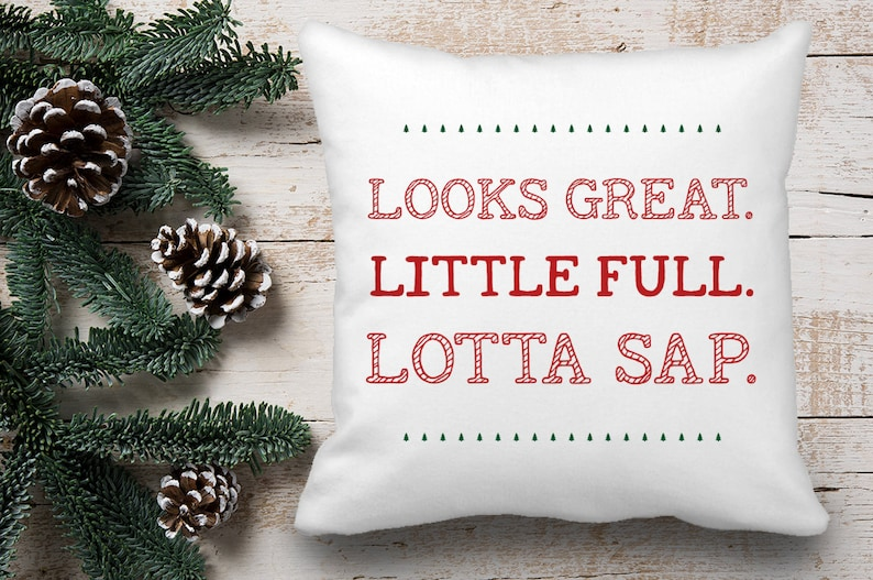 Christmas Vacation Movie Throw Pillow Cover National Lampoon | Etsy