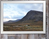 Printable Travel Photography Scottish Highlands Dramatic Landscape Stock Photo Instant Download