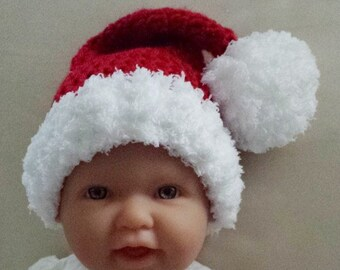 Crochet santa hat  805b6816415e