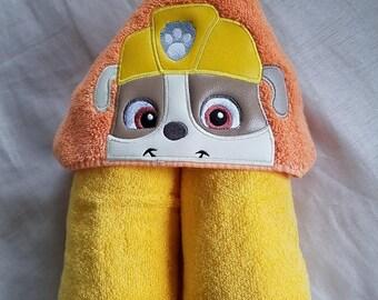Kids Hooded Towel.Kids Hooded Towel,Child's Hooded Towel,Personalized Kids Hooded Towel,Puppy Hooded Bath Towel,Kids Gift,Kids Bath Towel