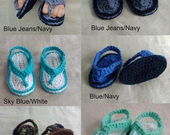 Baby Sandals NB-9 Month,Crochet Baby Boy/Girl Sandals,Baby Shoes,Crochet Baby Flip Flops,Infant Sandals,Crochet Flip Flops,Crochet Baby Gift