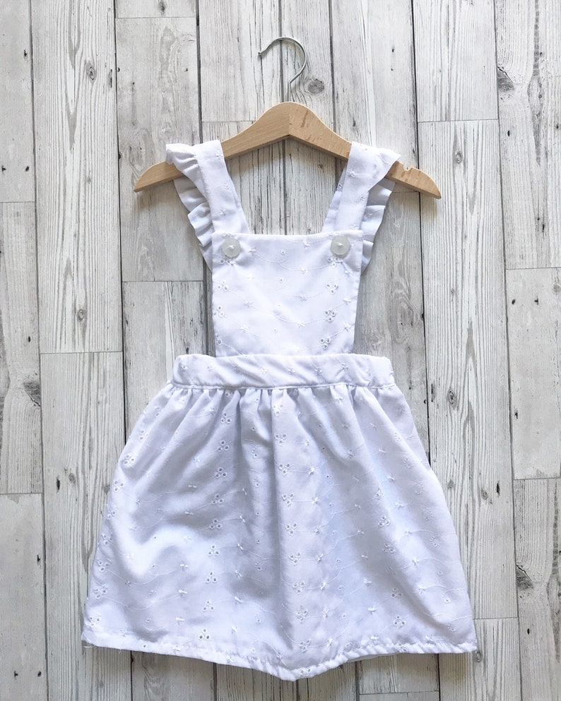 520c6898b4 White Dresses for Girls White Pinafore Dress Girls