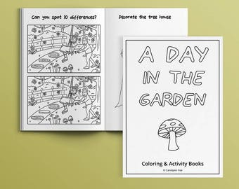 A Day At The Carnival Instant Download Activity Book For Etsy